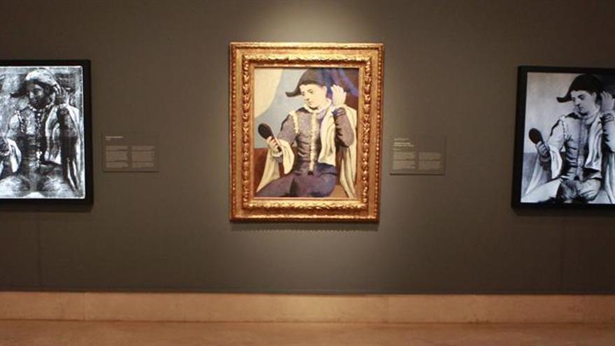 """""""Arlequín con espejo"""", cuando Picasso le """"torció el cuello"""" al Clasicismo"""