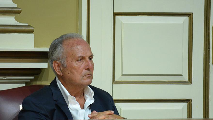 Juan Manuel García Ramos en el Parlamento de Canarias