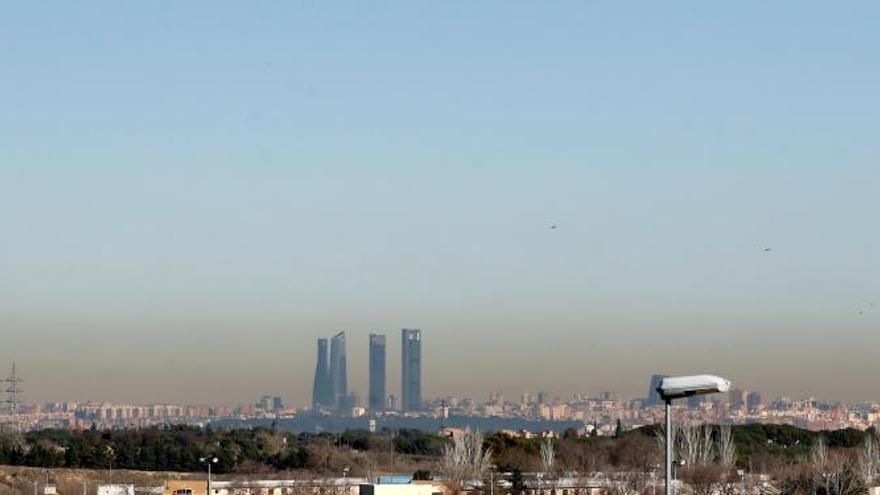 Madrid y Barcelona asumen el 30 % de las muertes por contaminación del aire