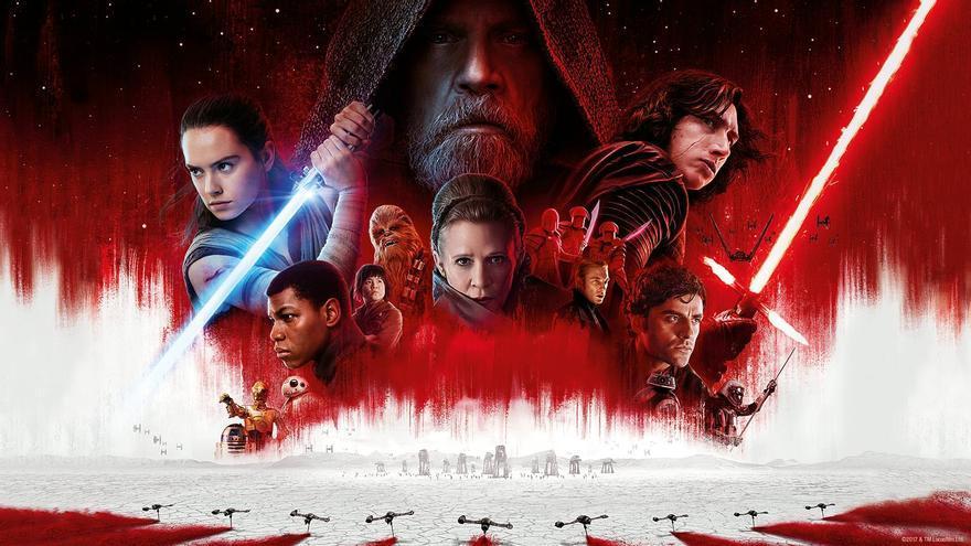 Póster de 'Los últimos Jedi'