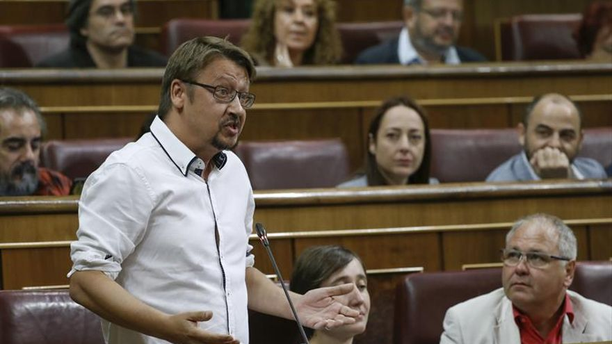Domènech a PSOE: no se puede defender plurinacionalidad y coquetear con el 155