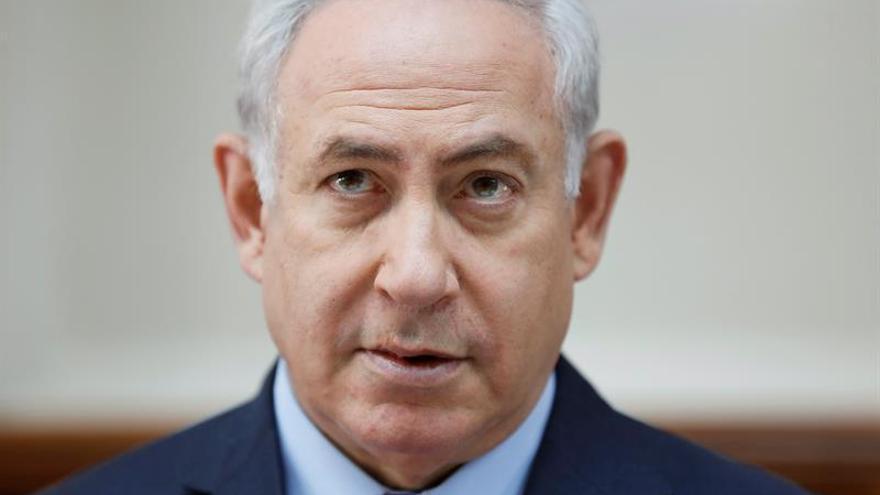Netanyahu disculpa a su hijo en la polémica grabación fuera de un club de estriptis