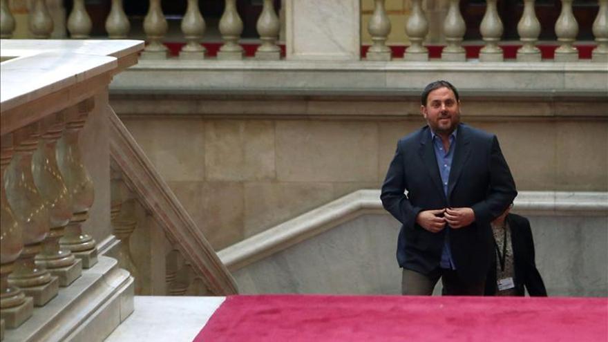 Junqueras espera que Mas dé un paso adelante y convoque elecciones