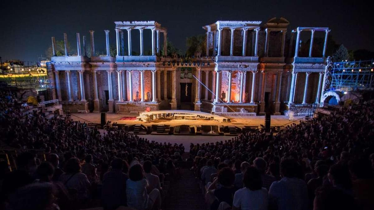 Imagen de archivo del Festival de Teatro Clásico de Mérida