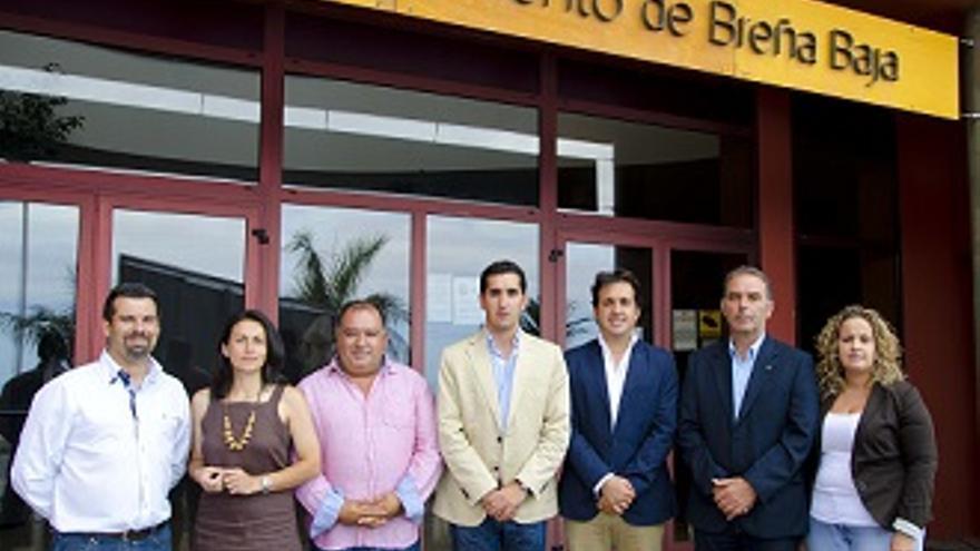 Grupo de gobierno Breña Baja-1