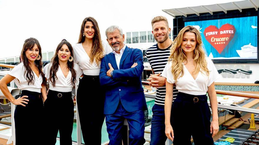 'First Dates' zarpará en su crucero el próximo 13 de enero en Cuatro