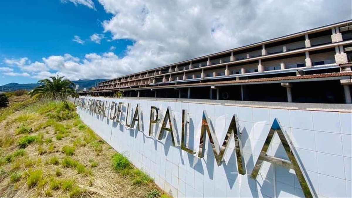 Imagen de archivo  del Hospital General de La Palma.