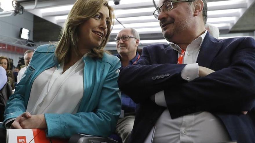 """Susana Díaz reconoce que da un """"valor enorme a los avales"""""""