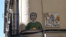 """Basket of Nean, el artista que esculpió a Fernando Simón en Lavapiés: """"Tiene que ser un santo para aguantar tanta presión"""""""