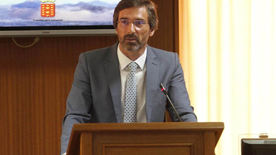 Pedro San Ginés, presidente del Cabildo de Lanzarote
