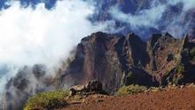 Imgen del Parque Nacional de la Caldera de Taburiente.