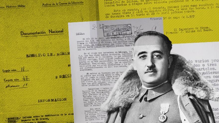 Documentos de los servicios secretos de Franco/ imagen