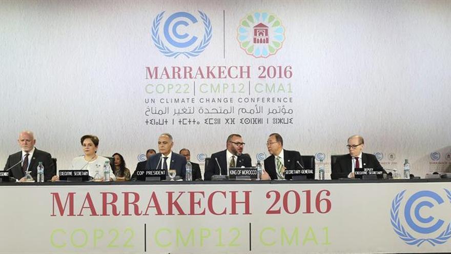 """Principales ONG deploran el resultado """"modesto"""" de  la cumbre climática de Marrakech"""