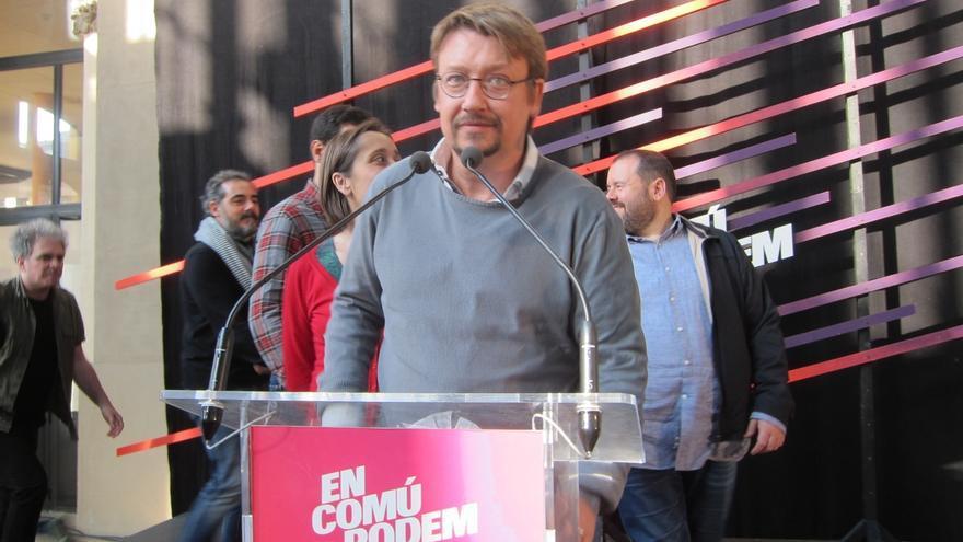 """Domènech (EnComúPodem) dice que sin proceso constituyente no habrá """"mayoría sólida"""""""