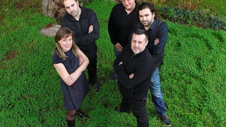 "Quinteto ""Riobó"" / www.dip-caceres.es"