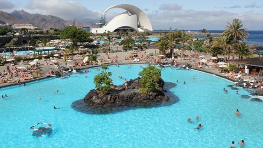 Parque Marítimo de Santa Cruz de Tenerife.