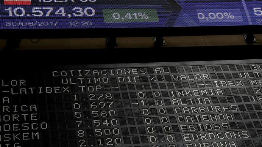 La Bolsa española abre la sesión plana y apenas se deja un 0,03 %