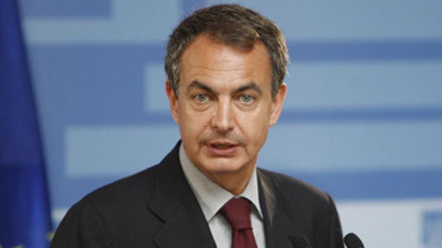 José Luis Rodríguez Zapatero en la Moncloa