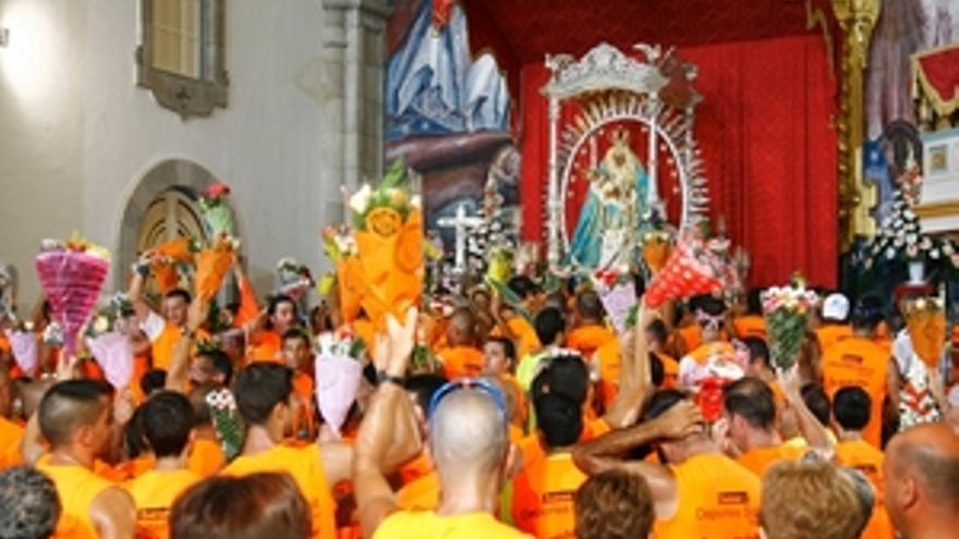 Celebraciones en honor a Nuestra Señora de Candelaria. (ACN PRESS)