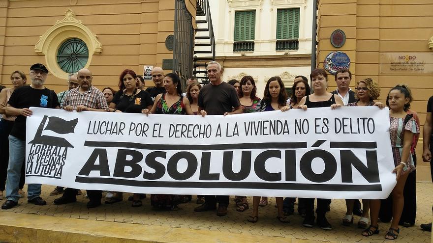 """Familias de Corrala Utopía piden su absolución ante los """"juicios políticos"""" por la ocupación"""