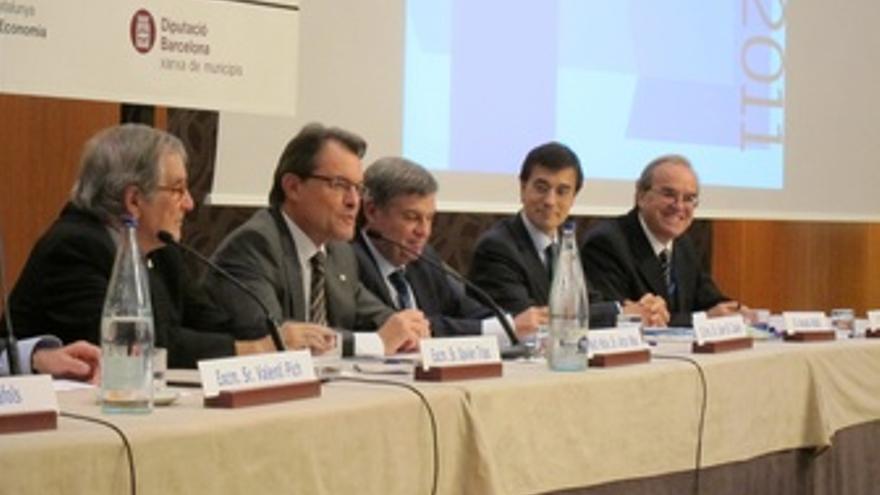Artur Mas, En La Inauguración De La Jornada De Economistas