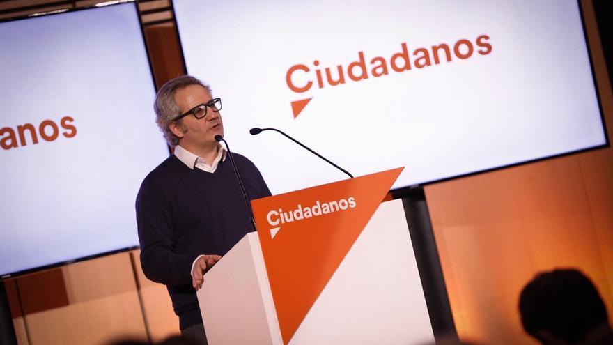 Carlos Pérez Nievas, candidato de Ciudadanos en Navarra.