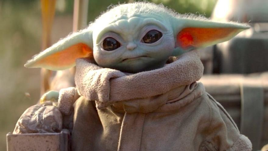 El ya viral personaje 'Baby Yoda', de la serie 'The Mandalorian'