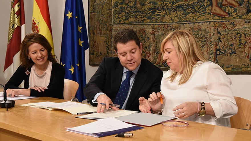 Firma del acuerdo de la Junta con fundaciones tutelares / JCCM