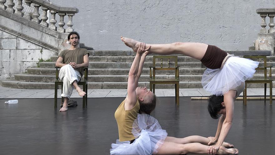 Escenificación de la obra 'Morse' de la compañía vasca Circo Zaurre.