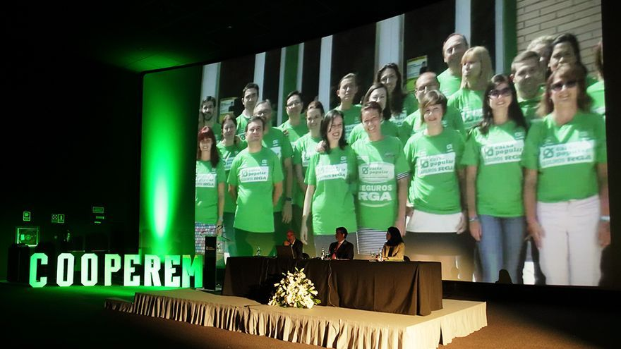 Caixa Popular celebraba su asamblea anual esta semana
