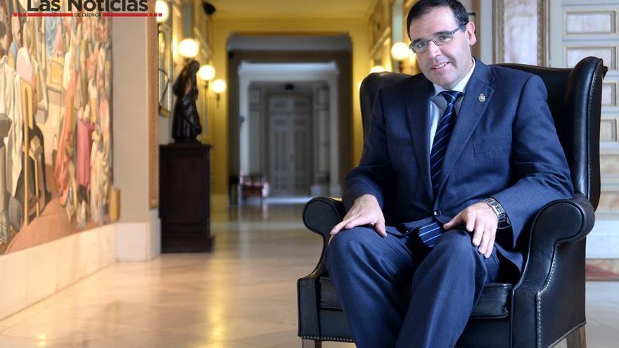 Benajmín Prieto, presidente del PP de Cuenca. Las Noticias de Cuenca.