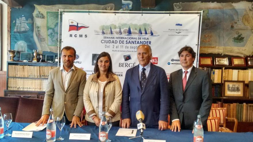 La II Semana Internacional de Vela 'Ciudad de Santander' se celebrará del 2 al 11 de septiembre