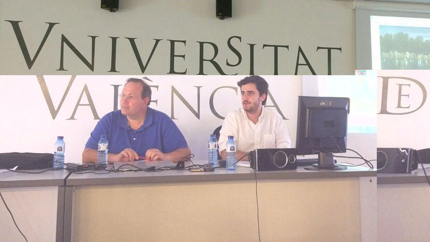 Roberto Viciano y Joan del Alcázar en la UEG