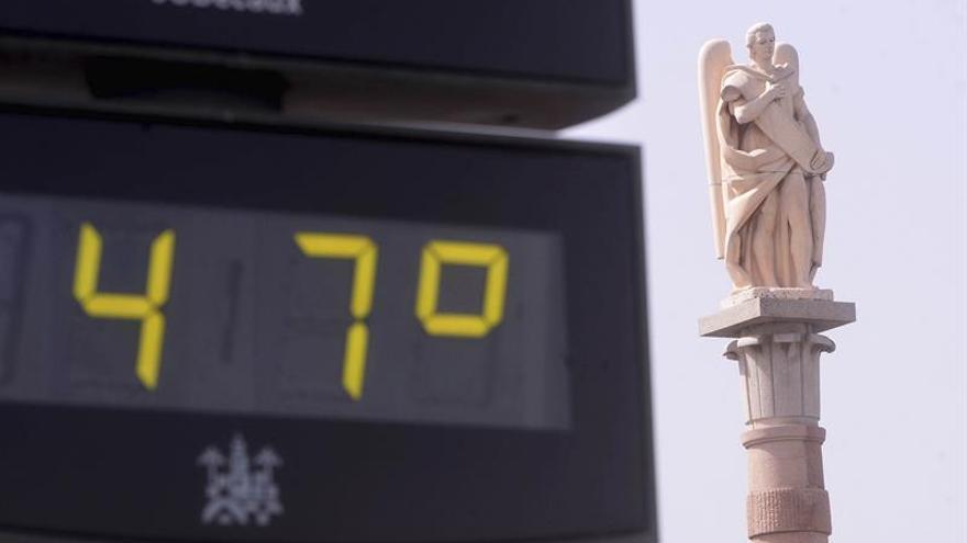 La actual ola de calor fulmina registros históricos de temperaturas máximas