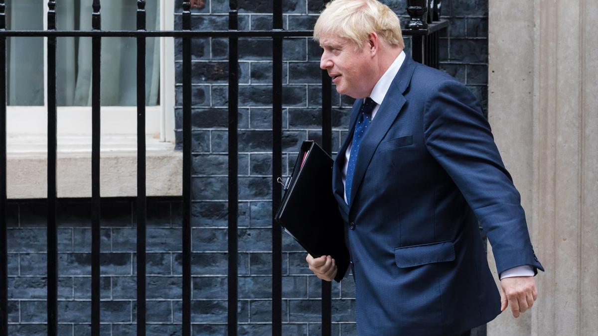 Imagen de archivo de Boris Johnson.