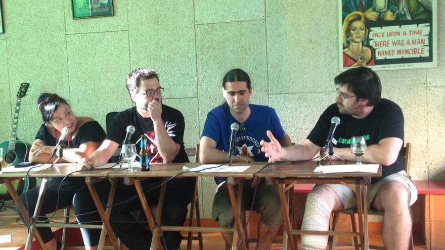 'Podcast' en vivo durante las V 'Podcast&Beers' organizadas por la Asociación Aragonesa de Podcasting