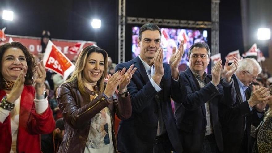 PSOE ganaría en Andalucía con 21-24 escaños por 15-18 de PP, 6-9 de UP, 5-7 de Vox y 4-7 de Cs, según un sondeo