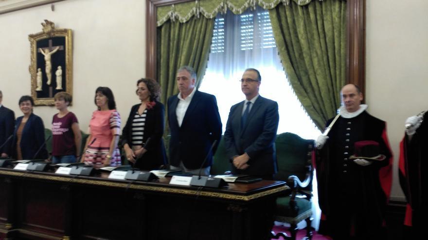 Joseba Asiron, elegido nuevo alcalde de Pamplona, el primero de EH Bildu en la historia del Consistorio