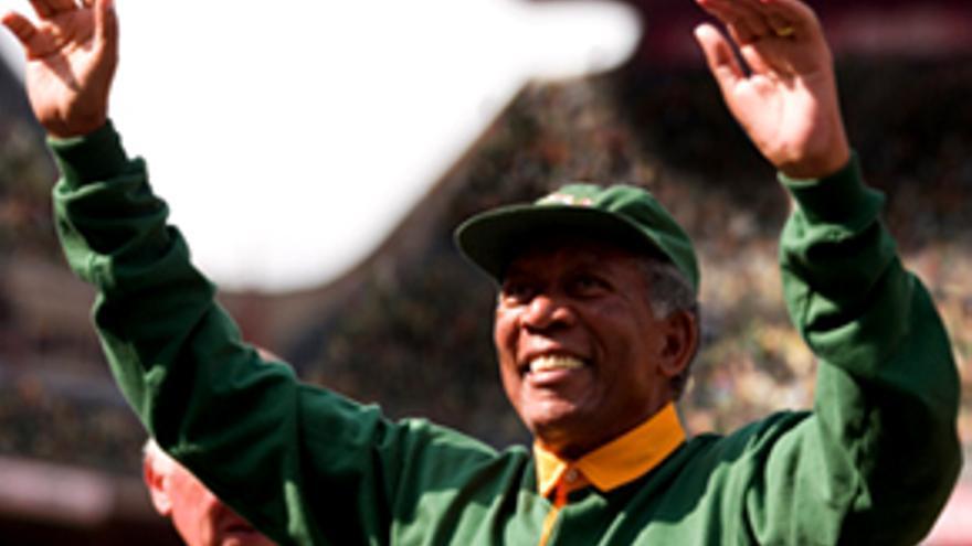 El 'Invictus' Mandela barre en Antena 3 con tributo de 4.3 millones y casi 25%