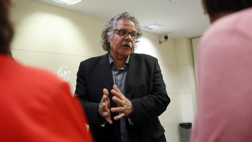 Tardà (ERC) pide a Gordó que dimita para no obstaculizar proceso soberanista
