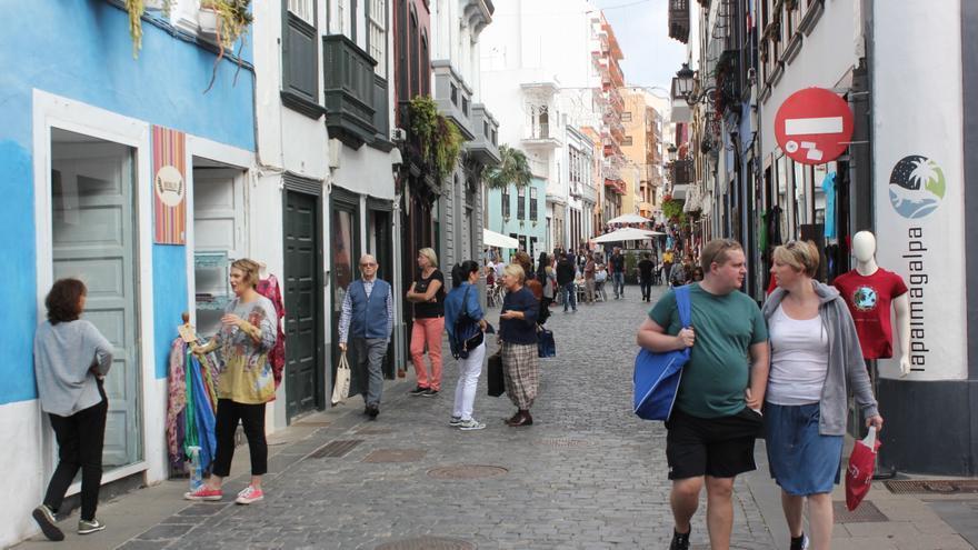 Calle Pérez de Brito de Santa Cruz de La Palma.