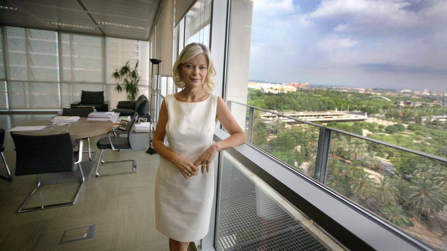 Gabriela Bravo en su despacho.