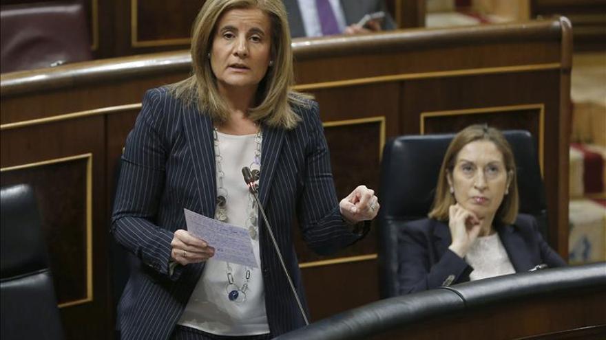 La ministra Báñez dice que la lucha contra el fraude recuperó 12.200 millones desde 2012