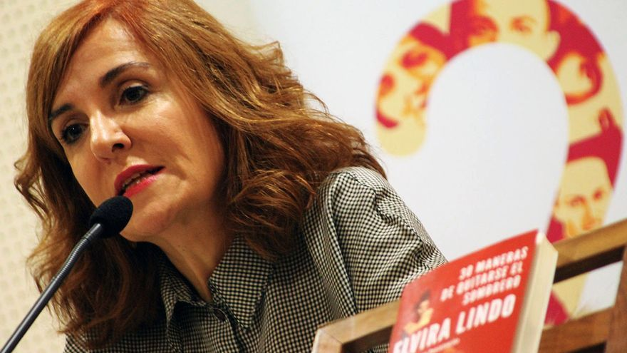 Elvira Lindo.   JUAN MIGUEL BAQUERO