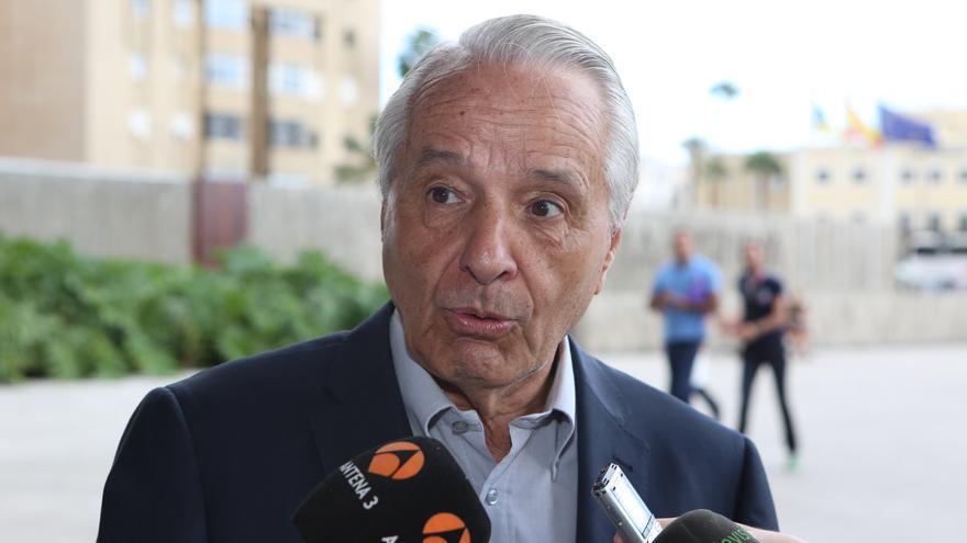 El exdiputado y exconsejero de Economía y Hacienda, José Carlos Mauricio. (ALEJANDRO RAMOS)