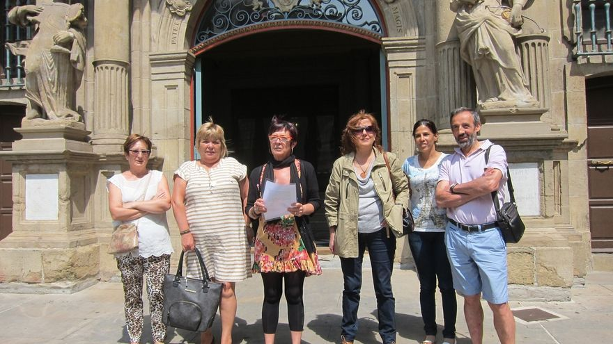 La fachada del Ayuntamiento de Pamplona se teñirá de lila el 7 de julio en recuerdo de Nagore Laffage