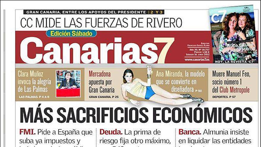 De las portadas del día (16/06/2012) #7