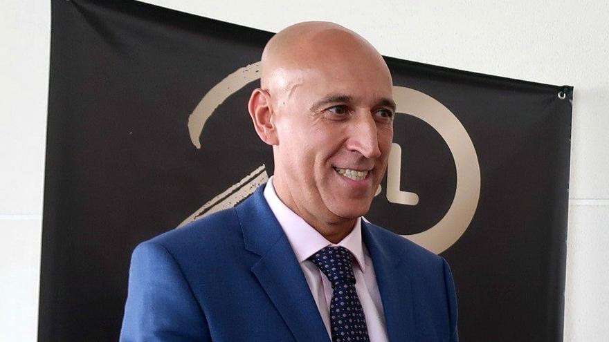 José Antonio Diez, alcalde de León