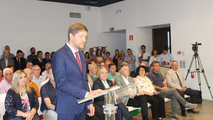 Marcel Iglesias tomó posesión como presidente de la comarca de la Ribagorza este 22 de julio, tras lograr un acuerdo con el PAR.