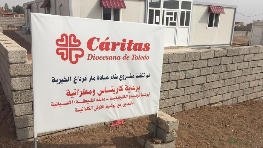 clínica en alqosh irak caritas toledo